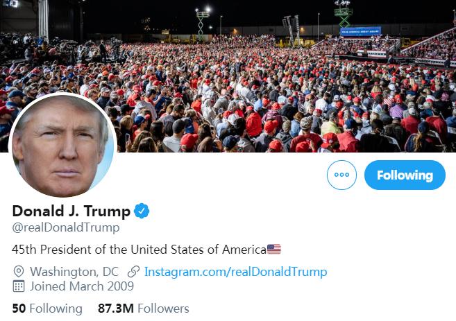 """【迪士尼彩乐邀请码】_安全专家称猜中特朗普推特密码是""""Maga2020!"""" 白宫否认"""