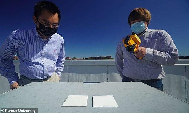 这种新型油漆可以用来让建筑物自然保持低温
