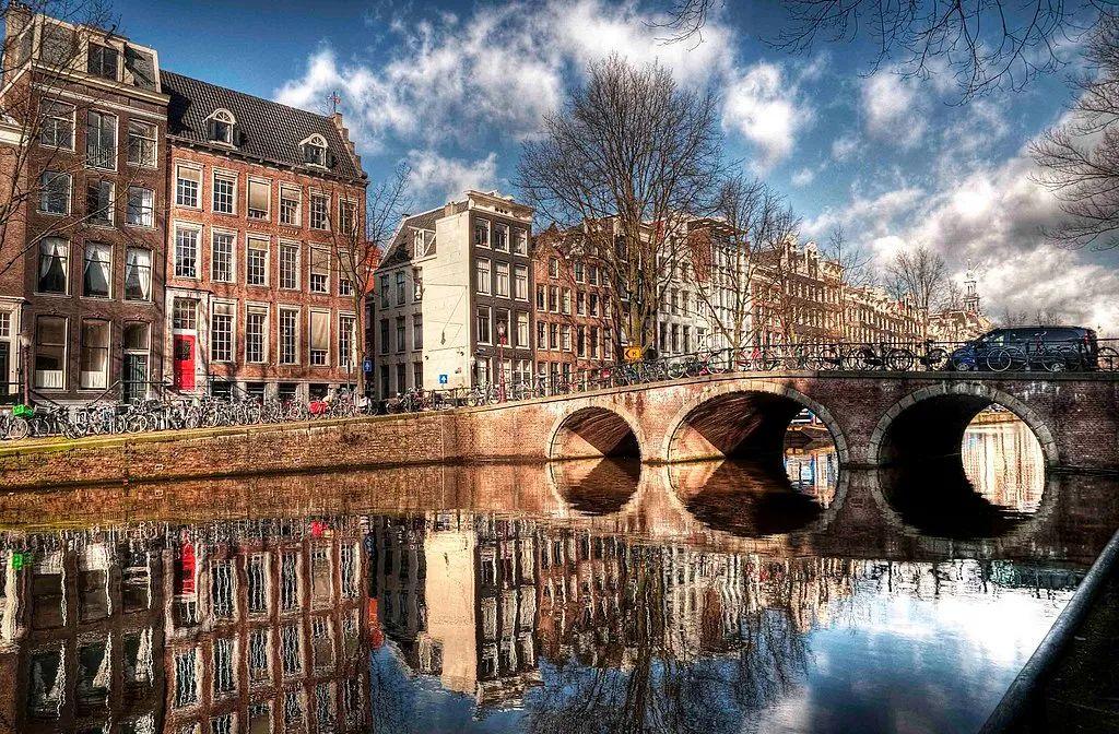 △ 阿姆斯特丹的国王运河(Keizersgracht)/wiki
