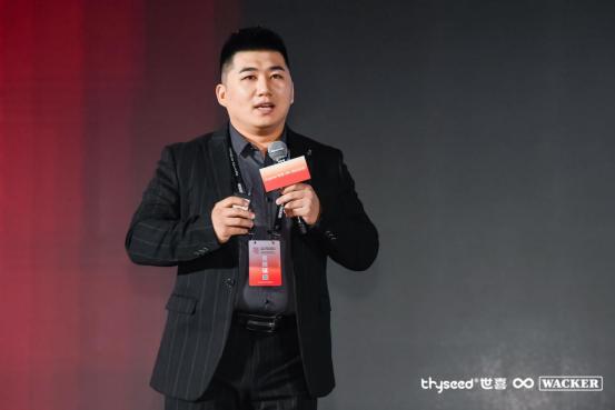 世喜百日瓶新品发布——世喜品牌负责人明哲先生发言