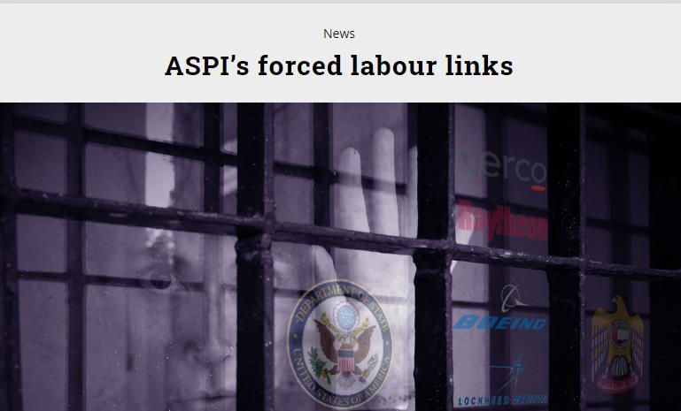 【人人坊】_澳媒揭澳反华智库背后利益链:英美金主长期压榨监狱劳工谋利