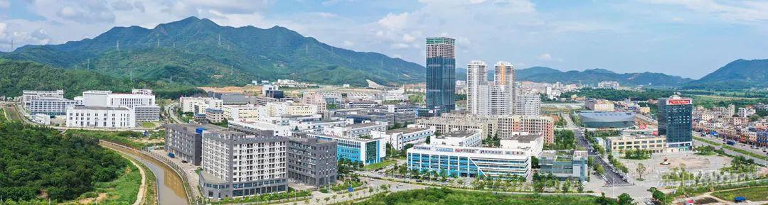 深汕合作区产城融合发展新貌。