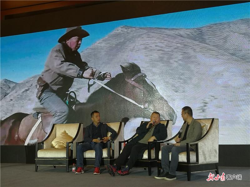 嘉宾畅谈电影《西风烈》的创作历程