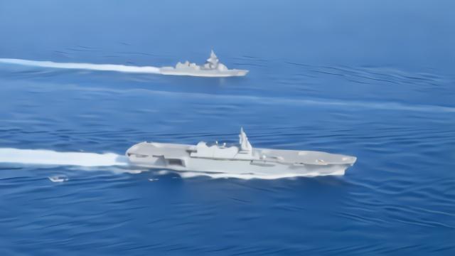 """美日航母领衔16艘舰艇在东海外围""""秀肌肉"""",矛头直指中国?"""