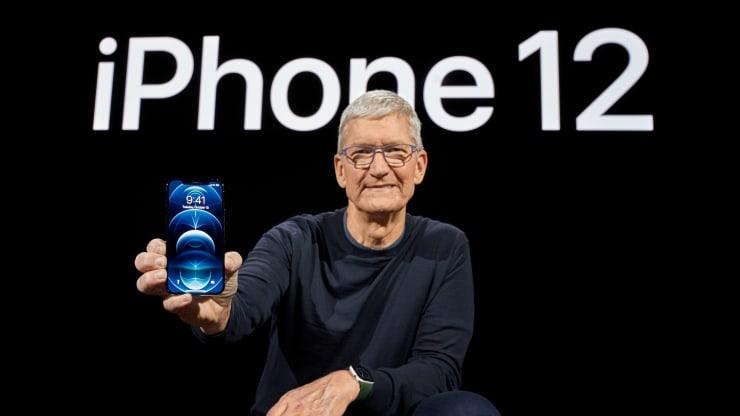 库克发布iPhone 12