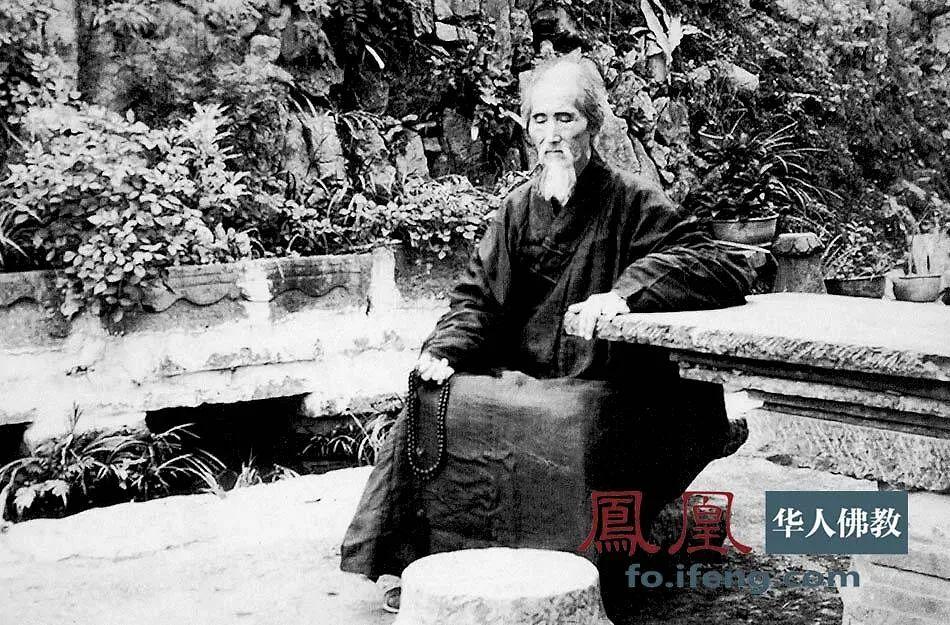 1950年9月11日,摄于云门寺。(图片来源:凤凰网佛教 摄影:云居山真如禅寺)