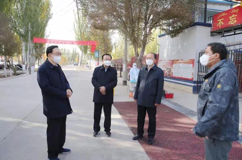 【金融86】_陈全国连续2天在喀什地区疏附县调研疫情防控工作