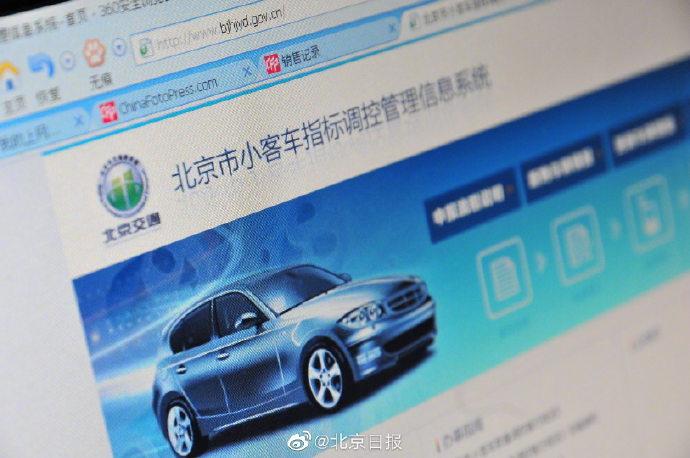 【wendy】_北京市普通小客车指标约3120人抢一个,中签难度再创新高