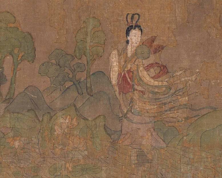 晋 顾恺之 洛神赋图 局部 宋摹本 北京故宫博物院藏