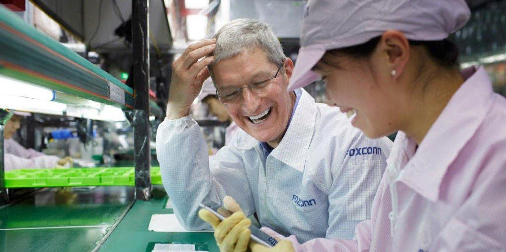 """代工利润低下想怪招 富士康与苹果的关系""""生变"""""""