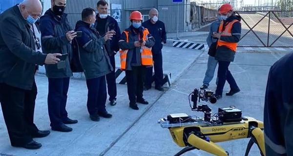 切尔诺贝利核电站发现了一只机械狗:别担心 ...