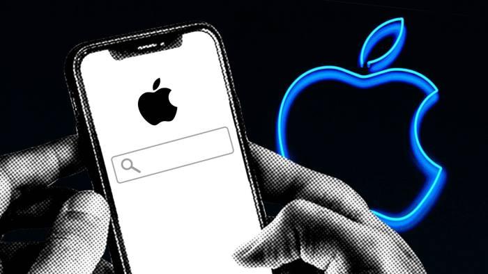 苹果开发自主搜索技术