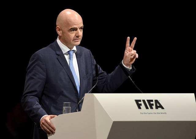 官方:国际足联鸭脖最新网站主席因凡蒂诺新冠检测呈阳性