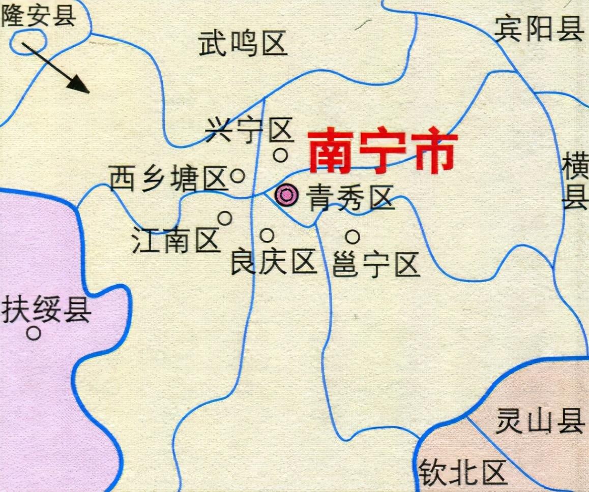南宁市区人口_官宣:南宁城区常住人口要超500万!未来5年,南宁要干这些大事!
