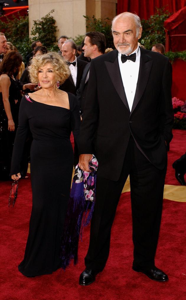 肖恩·康纳利和妻子