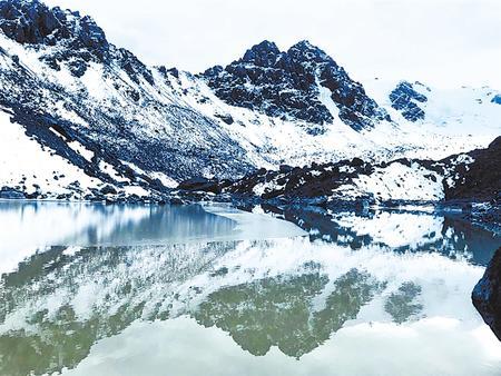 巴尔斯雪山风景组图