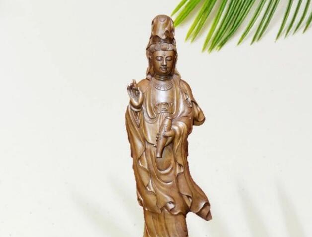 佛系造像|这尊观音木雕为何珍贵无比?