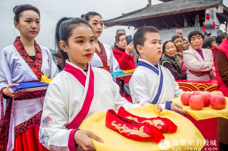 2020年嫘祖故里酬蚕节祭祖仪式在盐亭举行