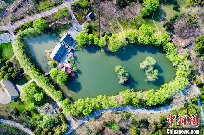 资料图:绿博园。 建邺区供图 摄