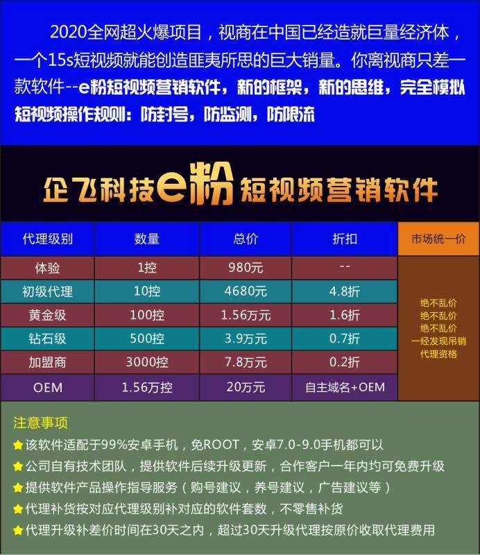 """""""企飞科技""""提供的报价单显示,10控系统4680元、100控1.56万元、500控3.9万元、3000控7.8万元、1.56万控20万元。"""