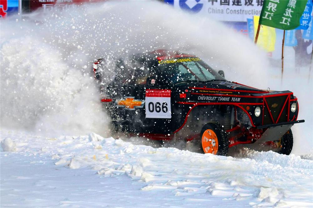 漠河国际冰雪汽车越野赛