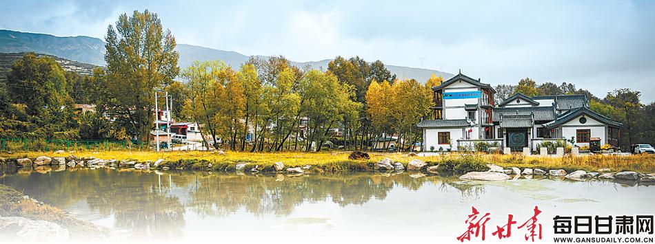东西部扶贫协作项目打造的寒山小镇生态旅游项目