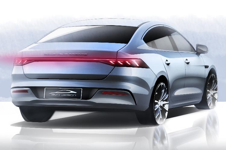 比亚迪全新车型设计图曝光 或为全新A+级轿车