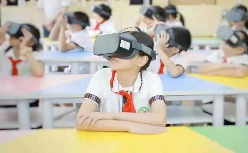 VR助力乡村教师,数字教育莪山先行
