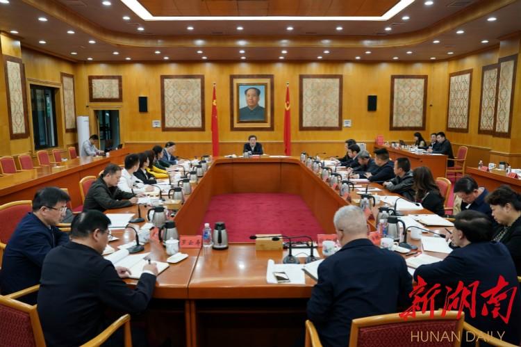 (11月10日下午,省委书记杜家毫主持召开基层代表座谈会。)