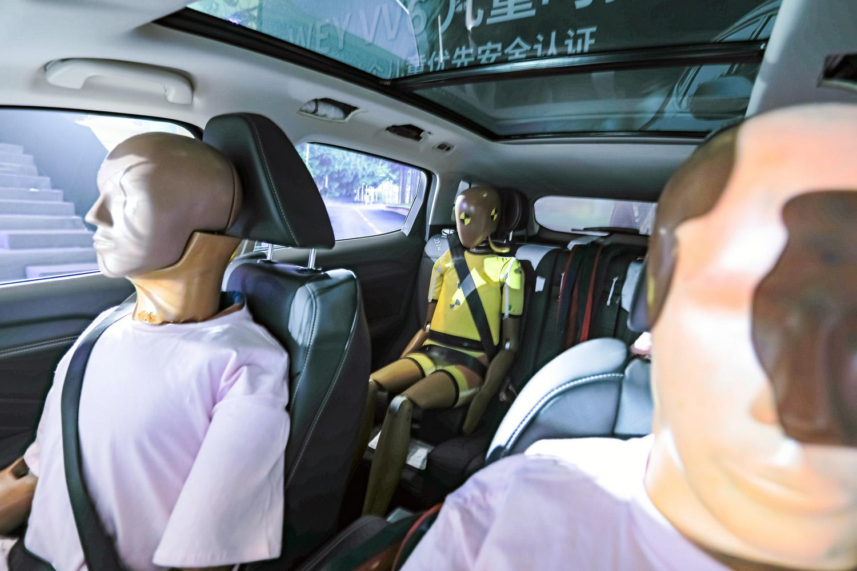 2021款VV6儿童呵护版上市,诸多黑科技加身,售价15.8万元