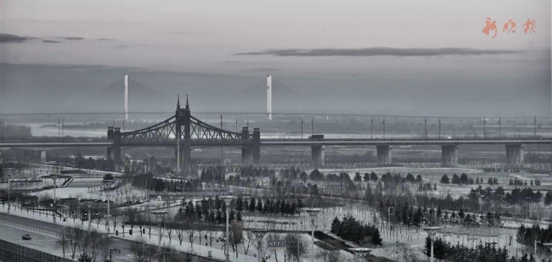 雪后的哈尔滨。哈尔滨日报手机记者 孙亮 摄