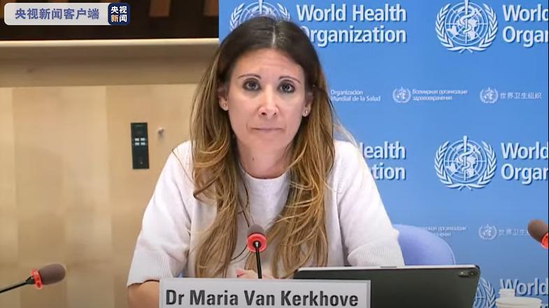 世卫组织卫生紧急项目技术主管玛丽亚·范·科霍夫