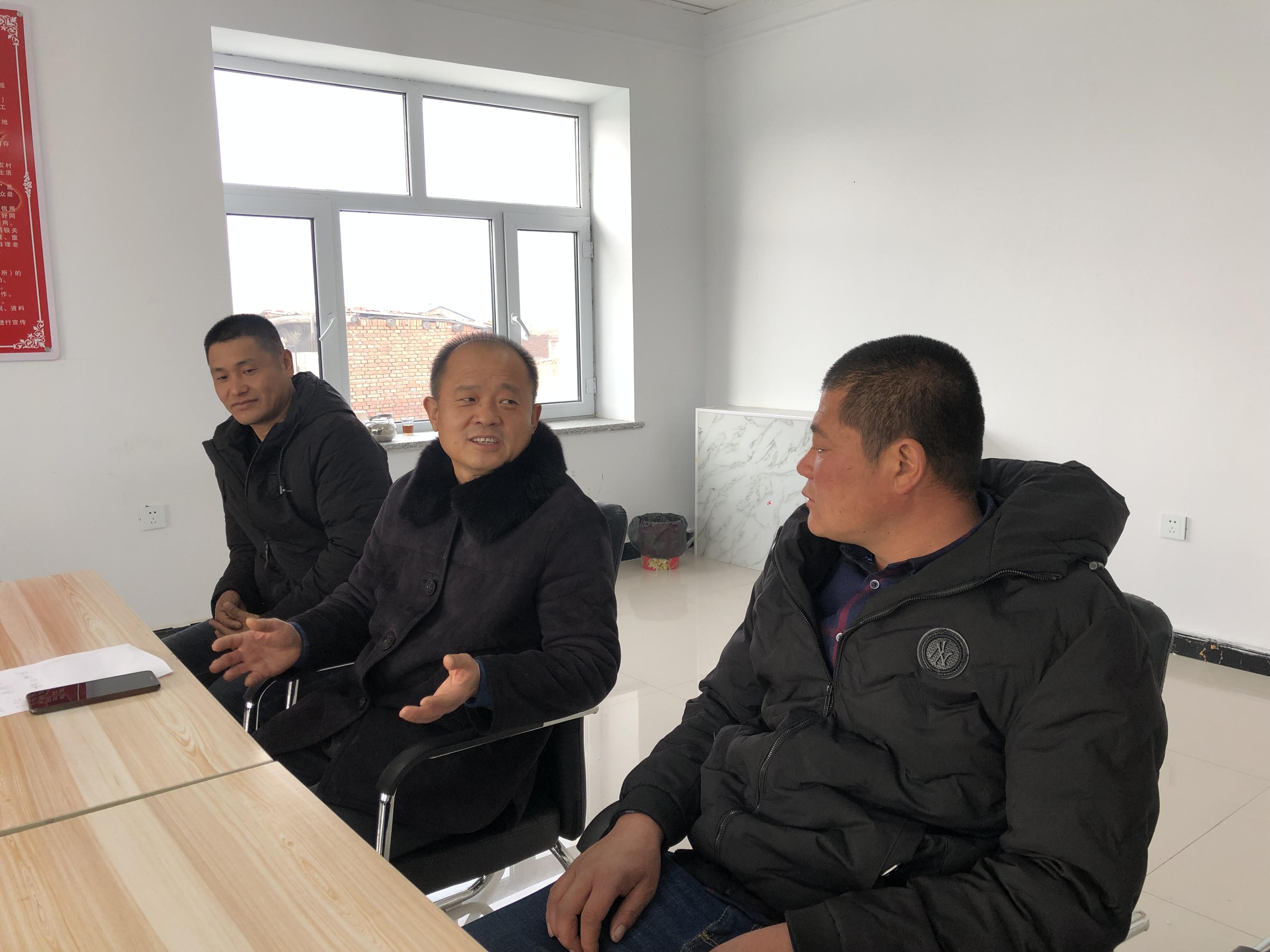 """富裕县:驻村工作队为贫困户开辟""""来钱道"""""""
