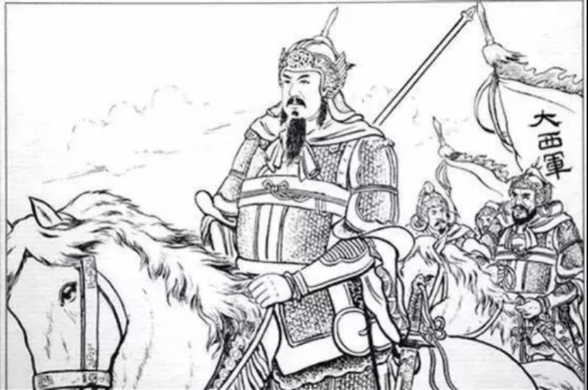 描绘张献忠和大西军的绘画