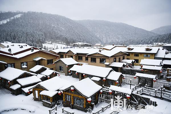 中国雪乡景区。王衍龙 摄