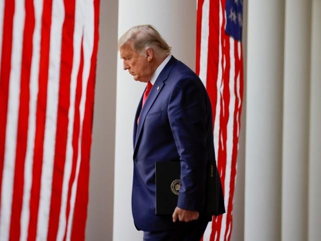 【彩乐园彩票注册】_美媒:特朗普拒绝公开露面只因厌恶新冠话题