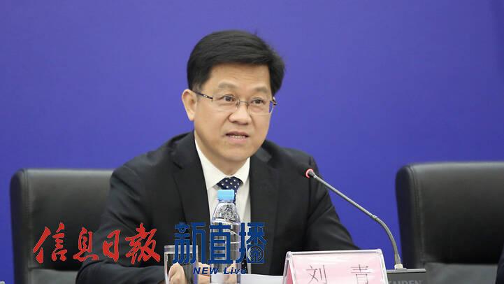 省科技厅一级巡视员刘青(文颖 摄)