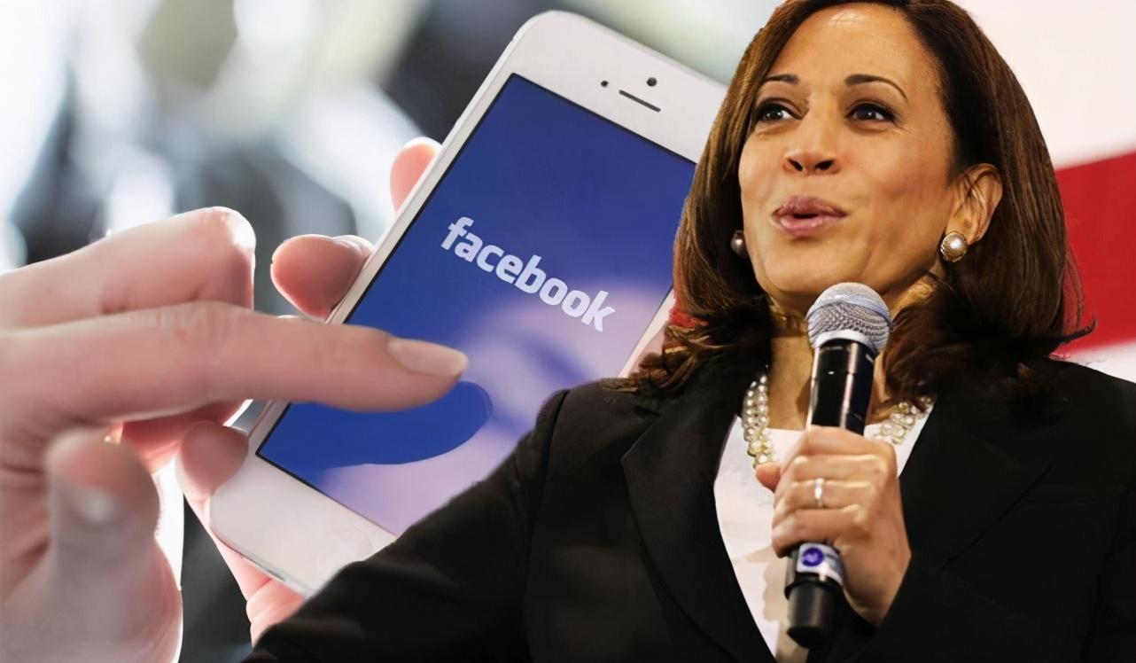 """美国社交媒体群组要将哈里斯""""驱逐到印度"""",脸书删帖但拒绝关闭"""