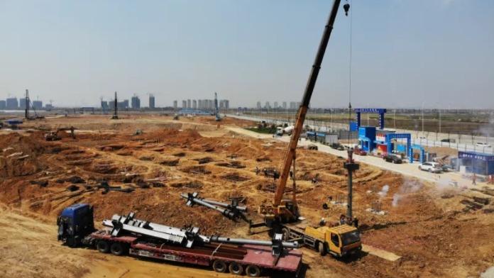 """大飞机""""筑巢""""背后的225个焦灼之夜——中国商飞江西生产试飞中心建设侧记"""