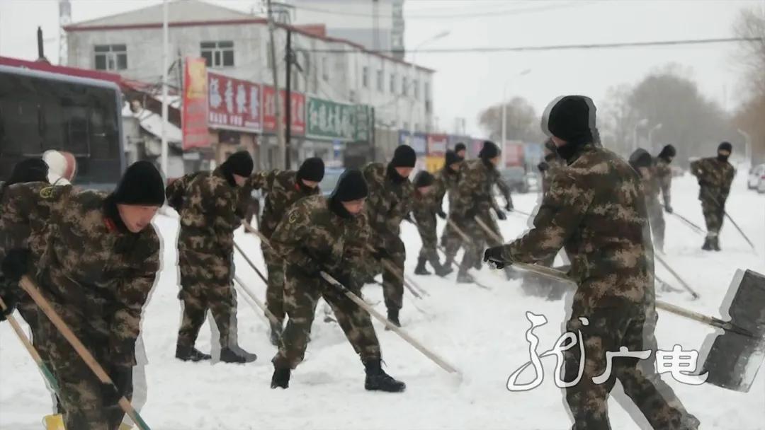战暴雪!黑龙江各地齐心协力保出行 保安全