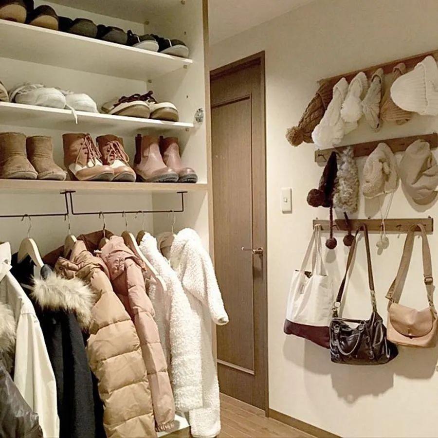 揭秘日本玄关设计!衣柜、储藏室、洗手台一物多用!