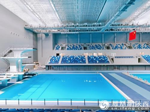 恒温游泳跳水馆