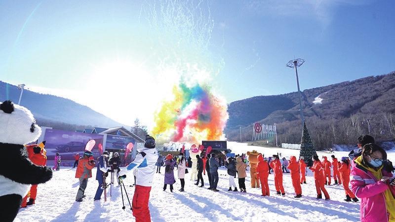 北大湖滑雪场新雪季启幕