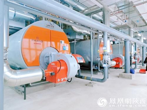 西安奥体中心燃气供暖管网