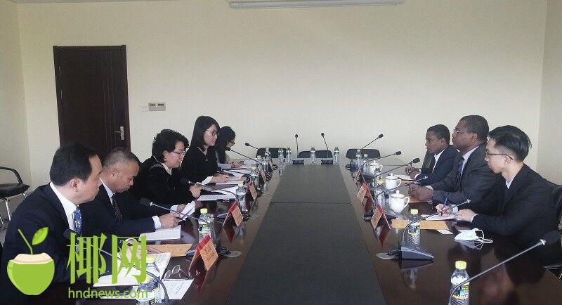 就经贸、旅游等领域深入交流 海南与埃塞俄比亚举行工作座谈