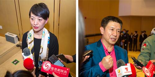 西安音乐学院作曲系书记、教授吴延和国家一级作曲、西安音乐协会常务理事夏正华接受采访