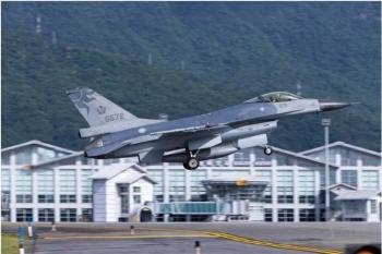 """""""飞行员驾F-16战机向大陆投诚""""?台防务部门:假消息"""