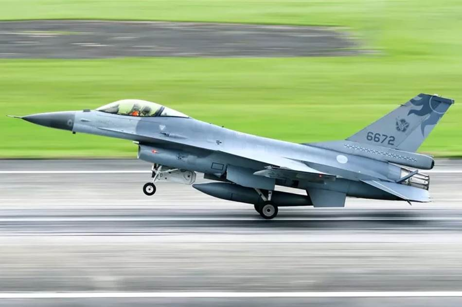 此次失事的F-16战机,机号6627。