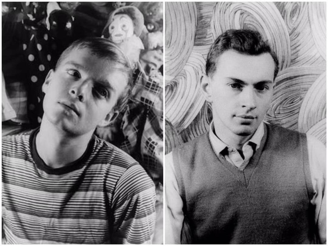 杜鲁门· 卡波特(左)与戈尔·维达尔(右)