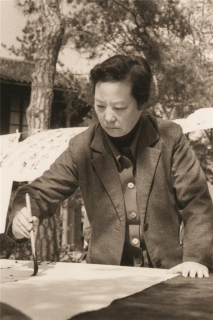 中年时期的陈佩秋